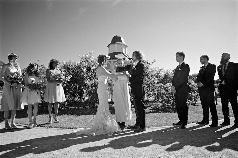 werribee-park-wedding-bridal-party-ceremony